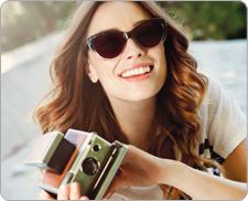 Solbriller med styrke til mænd og kvinder