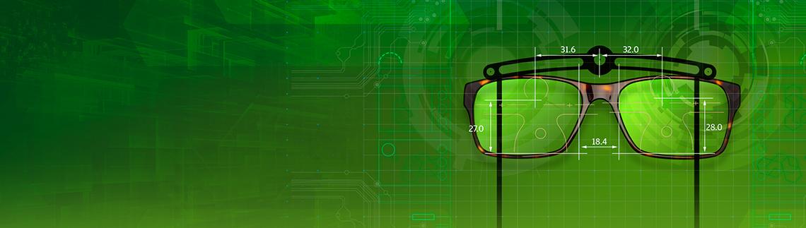 Digital opmåling af brilleglas